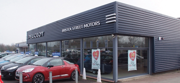 Bristol street peugeot banbury car dealership reviews for Bristol motor mile dealerships