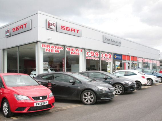 Bristol street seat carlisle car dealership reviews for Bristol motor mile dealerships
